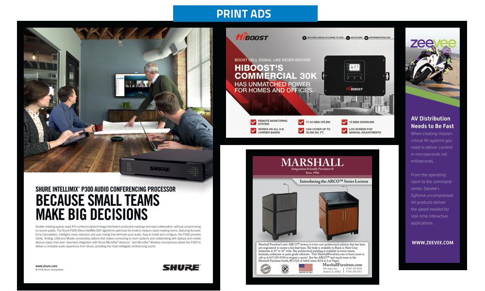 Commercial Integrator Print