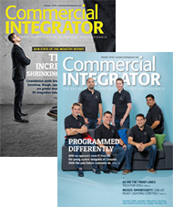 Commercial Integrator Magazine Covers