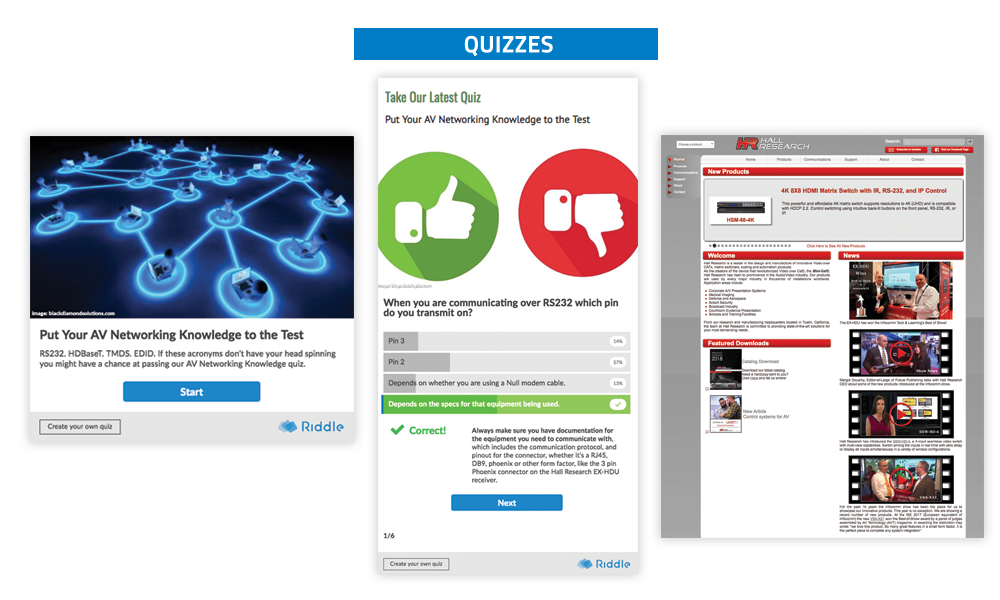 Commercial Integrator Quizzes