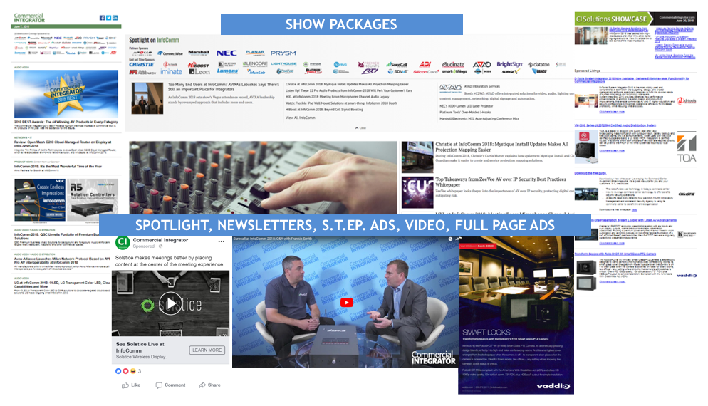 Ce Pro Tradeshow Packages