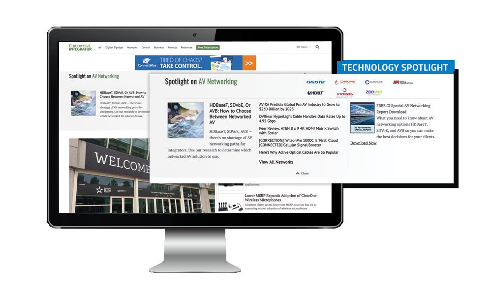 Commercial Integrator Technology Spotlight
