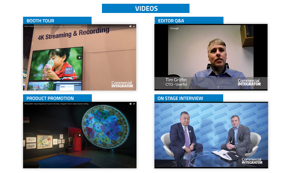 Commercial Integrator Videos