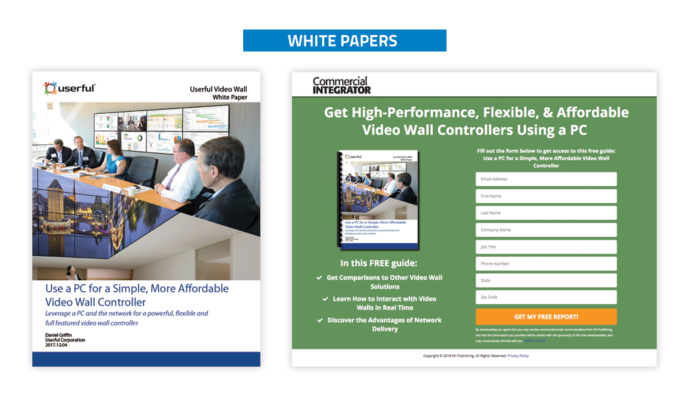 Commercial Integrator Whitepapers